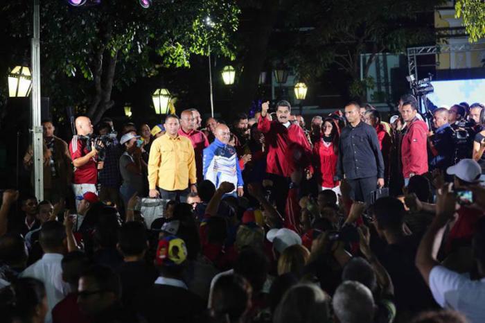 Maduro agradeció la solidaridad de diferentes pueblos del mundo ante el proceso Constituyente. Foto: AVN