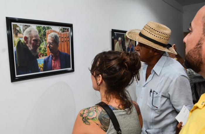 CUBA-LA HABANA-INAUGURACION DE LA EXPOSICION FOTOGRAFICA FIDEL R