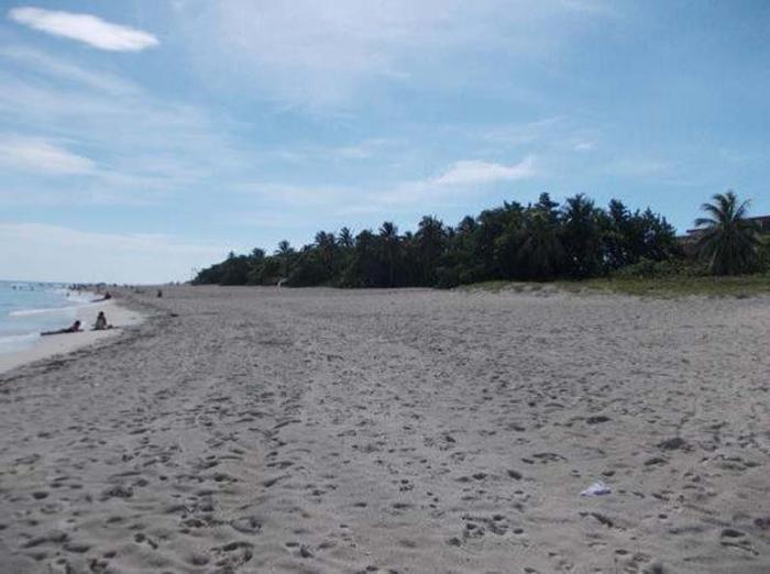 En este lugar estaban el restaurante Caney y Villa Bertha en los años 1986 y 1987, afectando la duna; el trabajo realizado ha permitido recuperar la playa.