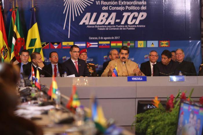 Rechaza ALBA-TCP sanciones ilegales de EE.UU. contra Venezuela