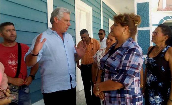Primer Vicepresidente cubano constata en Cienfuegos preparativos por celebración de importante acontecimiento histórico