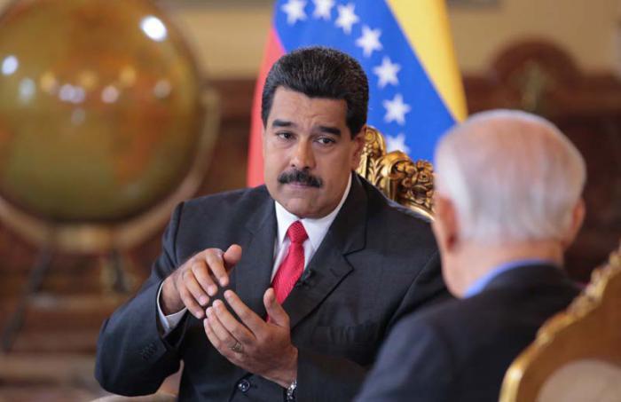 Maduro con Vicente Rangel.