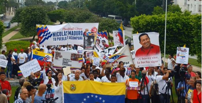Cuba repudia 'injustas e ilegales' sanciones de EEUU a Venezuela
