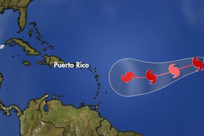Irma continúa como un huracán de gran intensidad