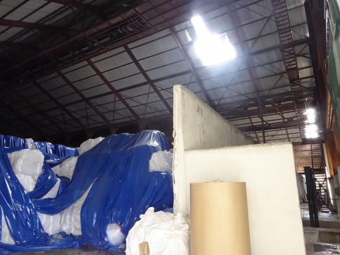 A pesar de los daños a la cubierta de la nave 1, el azúcar que permanecía en Puerto Carúpano no sufrió daño alguno.