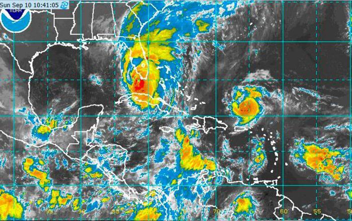 Minuto a minuto: El paso del huracán Irma