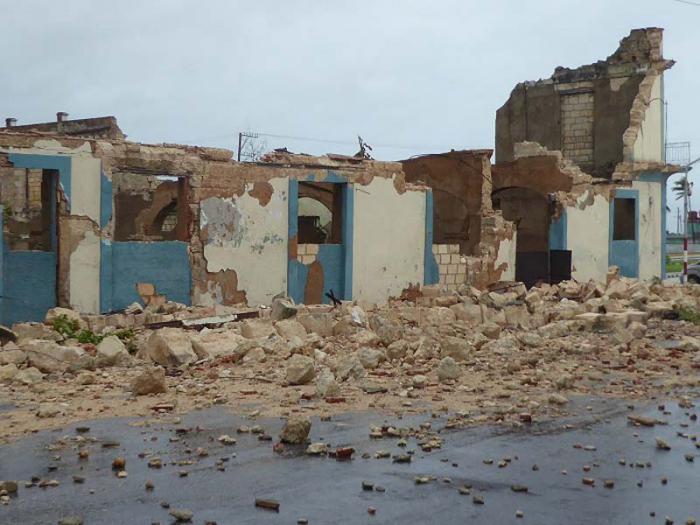 Paso del huracán Irma por la ciudad de Matanzas.