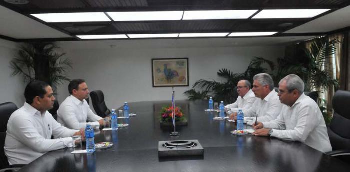 Recibió primer vicepresidente cubano a Procurador General de República Dominicana