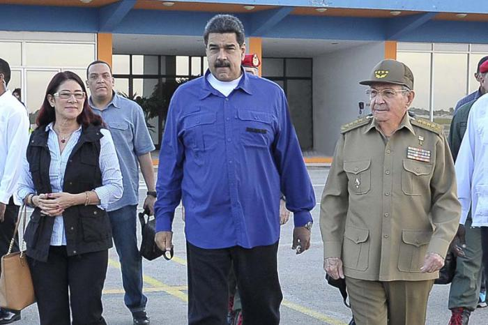 Despidió Raúl Castro en La Habana al presidente venezolano