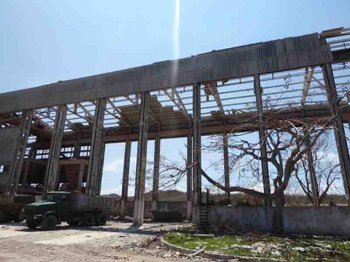 Mina de yeso de Punta Alegre lista para reanudar la producción ...