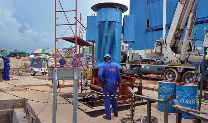 central termoelectrica de matanzas