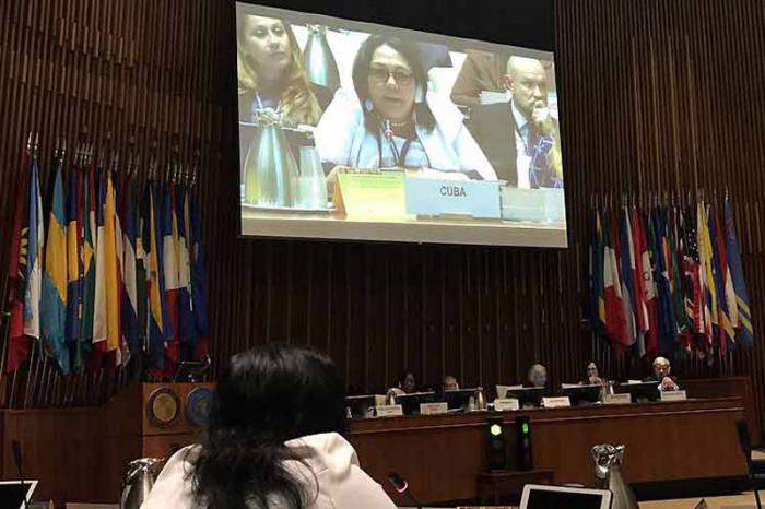 Cuba llama a reconocer la salud como derecho humano esencial
