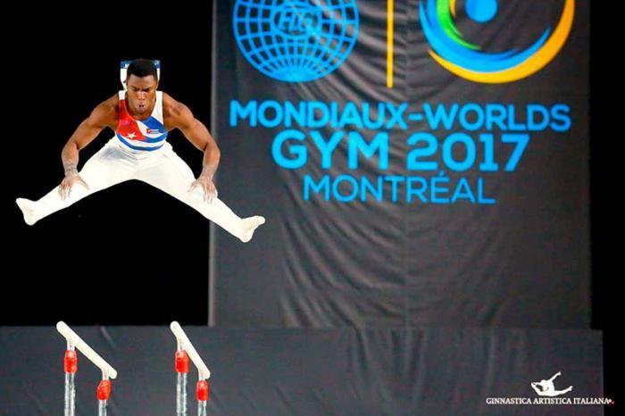 Cubano Larduet quinto entre máximos acumuladores del Mundial de Gimnasia