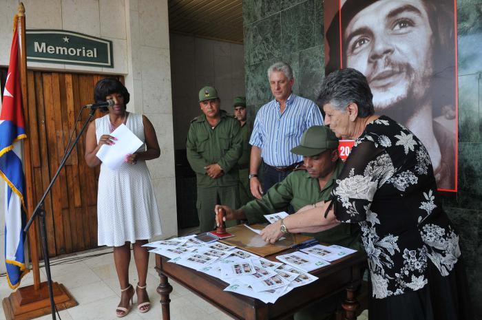 Díaz-Canel presidió actividades de recordación al Che