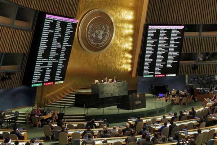 Cada año en la onu la mayoría de las naciones del mundo denuncian el bloqueo de Estados Unidos hacia Cuba. Foto: pl