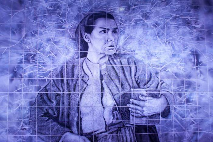Mural dedicado a Raquel Revuelta.