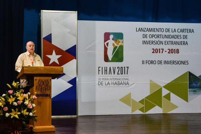 Rodrigo Malmierca, FIHAV 2017.