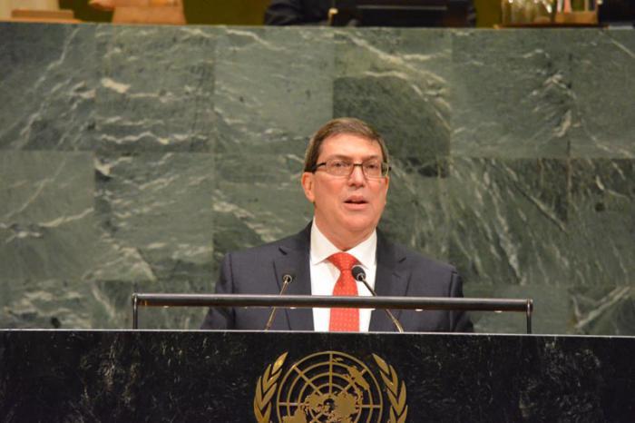 Discurso de Bruno en la ONU