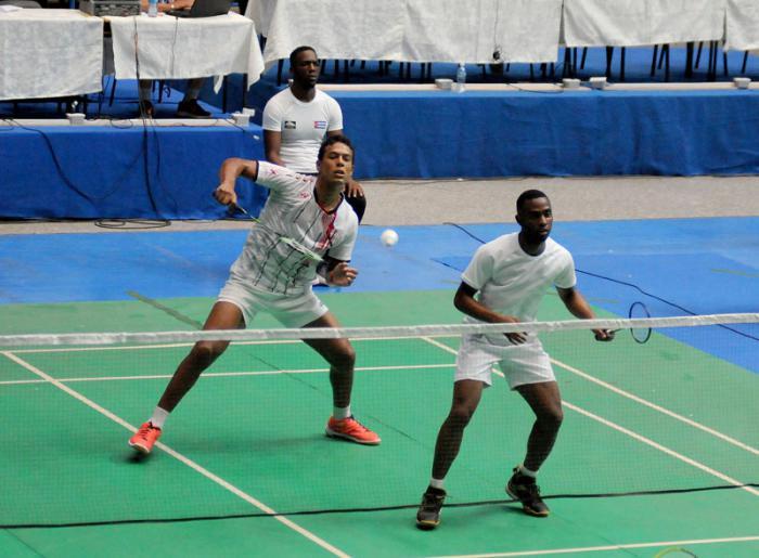 Logra dupla masculina cubana oro en Open dominicano de Bádminton