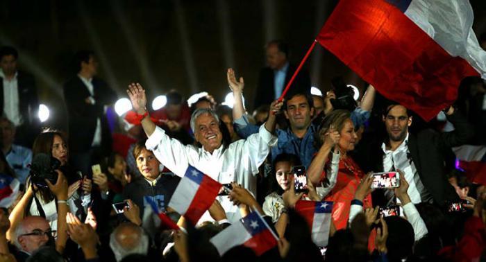 Piñera lideró en Chile sin evitar segunda vuelta