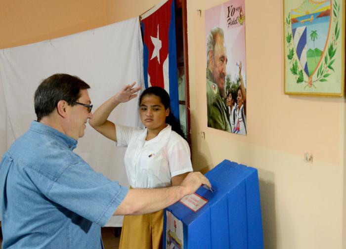 Bruno Rodríguez: El legado de Fidel está presente en estas elecciones