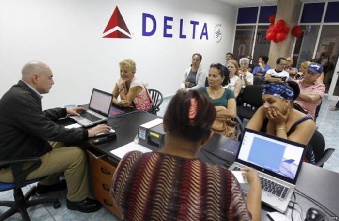 Aerolínea estadounidense Delta satisfecha con su primer año en Cuba