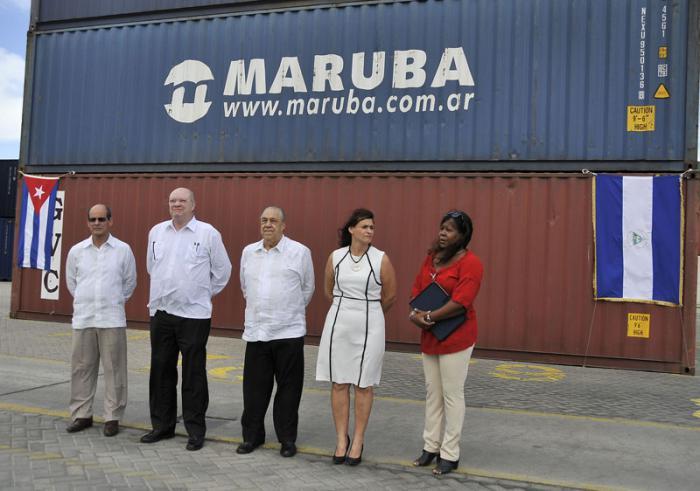 Arriba a Cuba ayuda solidaria del gobierno de Nicaragua