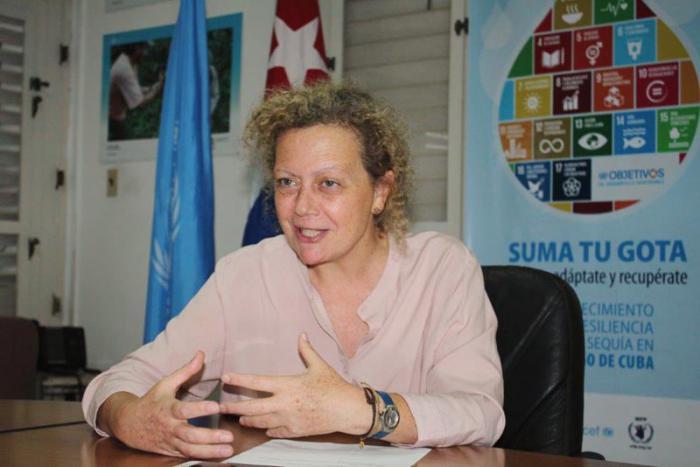 Paloma Durán destacó lo logrado hasta el momento gracias al proyecto «Suma tu gota».