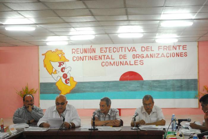 Carlos Rafael Miranda, secretario de los CDR