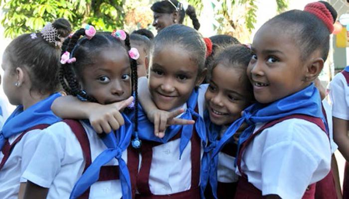 Afirma Unicef que Cuba es campeón en derechos de la niñez