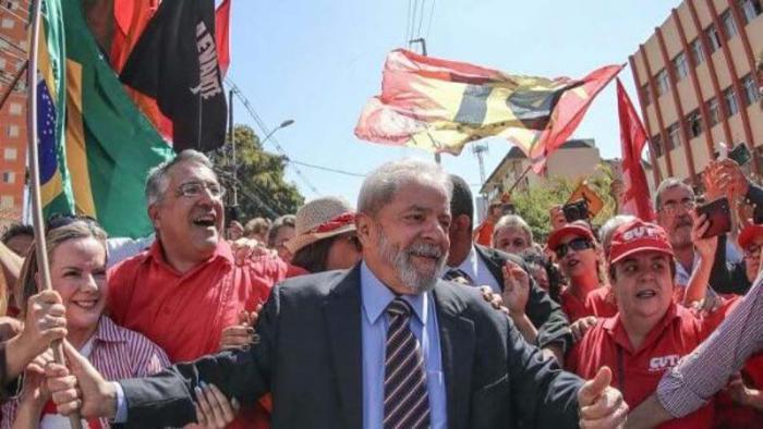 Lula es un fuerte candidato para las venideras elecciones presidenciales en Brasil.
