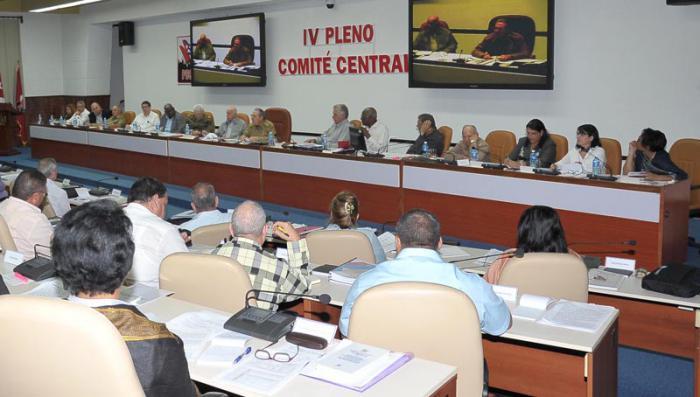 Pleno del Comité Central analizó prioridades económicas y sociales en Cuba