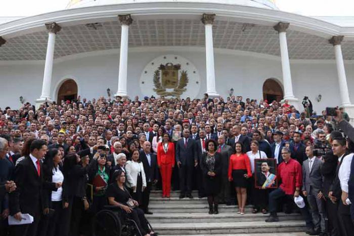 A cinco meses, Constituyente venezolana continúa en batalla por la paz