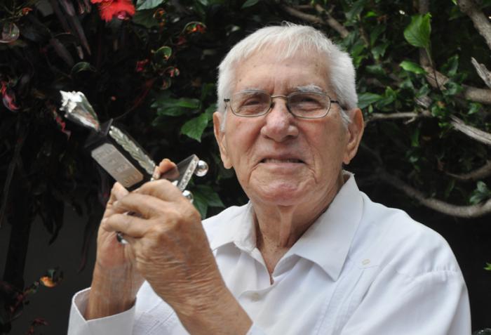 Recibe Salvador Wood Premio cubano de Televisión Por la Obra de la Vida