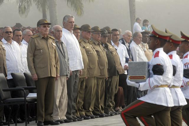 Ceremonia de Inhumación de los Combatientes del II Frente Oriental Santiago de Cuba