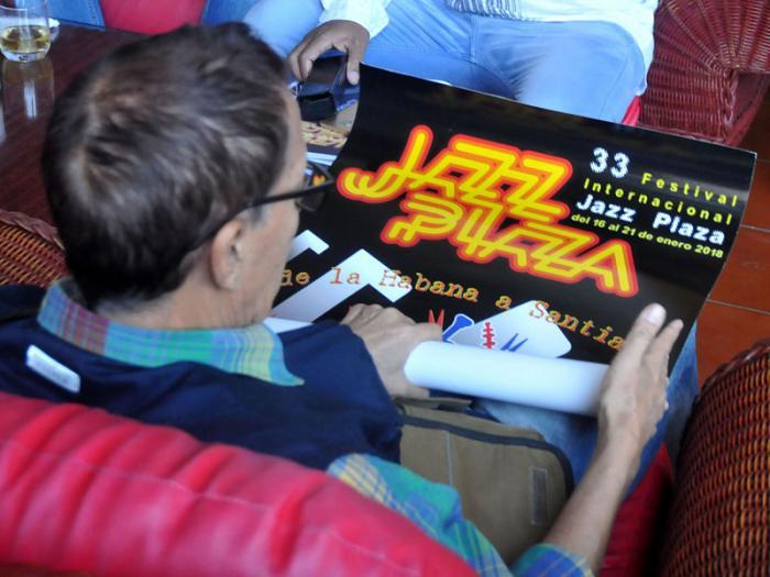 Conferencia de prensa por el 33 Festival Internacional Jazz Plaza del 16 al 21 de enero, en el Hotel Nacional, Vedado