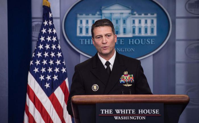 Ronny Jackson, el médico de la Casa Blanca