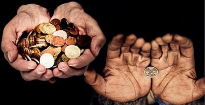 Aumentó la brecha entre los más ricos y los pobres en 2017