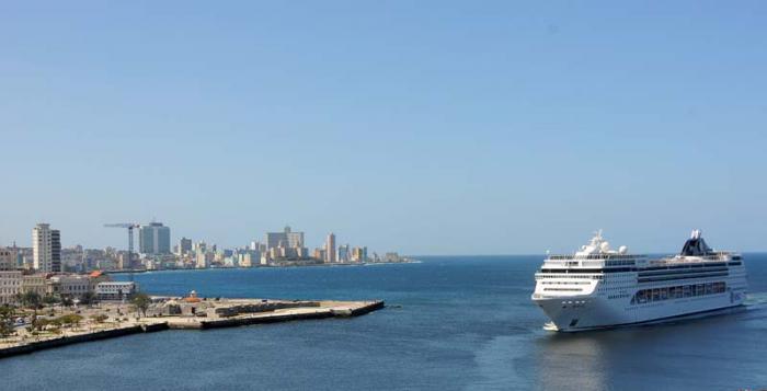 Crucero en la Habana Vieja.