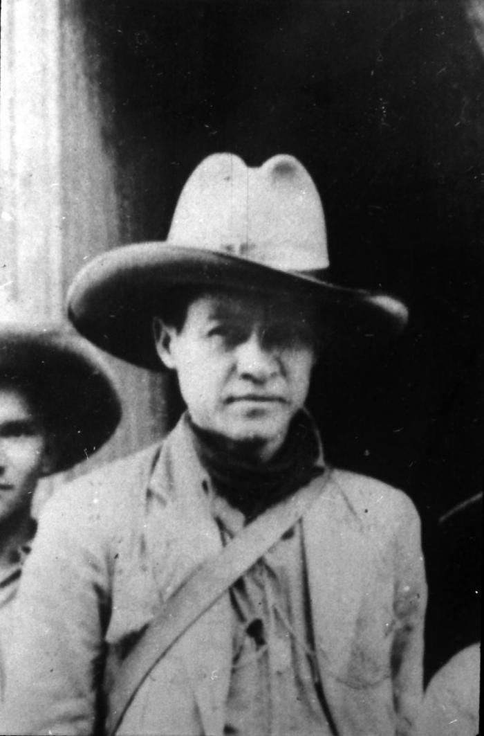A principios de aquella memorable guerra de liberación, declaró enfáticamente: Yo quiero Patrialibre o morir.