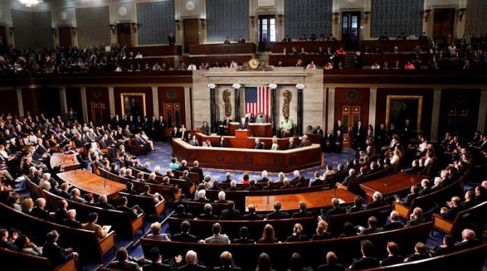 Resultado de imagen para congreso de estados unidos vota