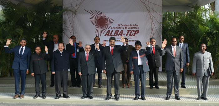 Maduro rinde tributo a Chávez junto a mandatarios del ALBA_TCP