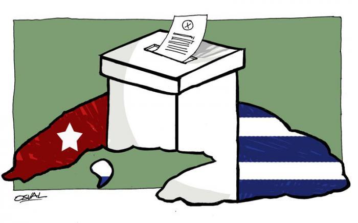 Registran participación del 82,9 por ciento en elecciones en Cuba