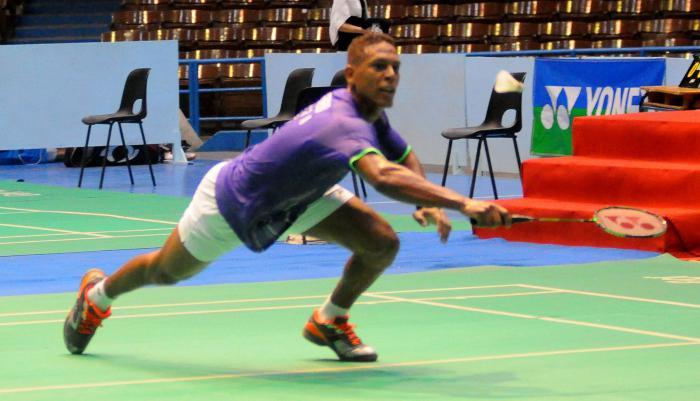 Gana en dos salidas cubano Guerrero en torneo de Bádminton en México
