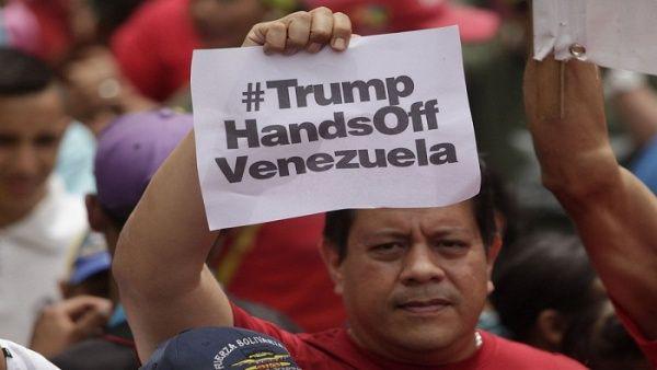 Continúa en Venezuela rechazo  a nuevas sanciones de EE.UU.