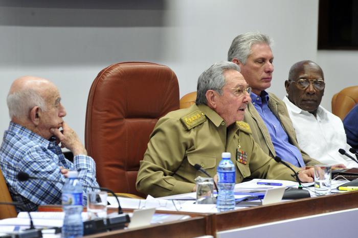 Raúl Castro V Pleno PCC