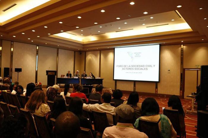 La OEA fracasa en convocar a la sociedad civil del continente