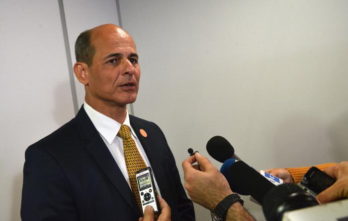 Viceministro de Relaciones Exteriores de Cuba Rogelio SierraDíaz