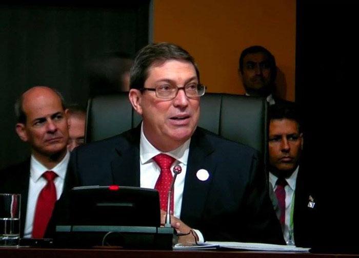 Cuba no negociará sus principios, asegura Bruno Rodríguez Parrilla en Cumbre de las Américas