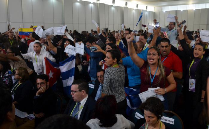 La asistencia de Cuba a la Cumbre de las Américas es un derecho legítimo, ganado con el apoyo de los gobiernos de la región. Foto: Roberto Suárez